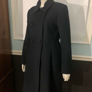Worthington: Women's black tweed coat